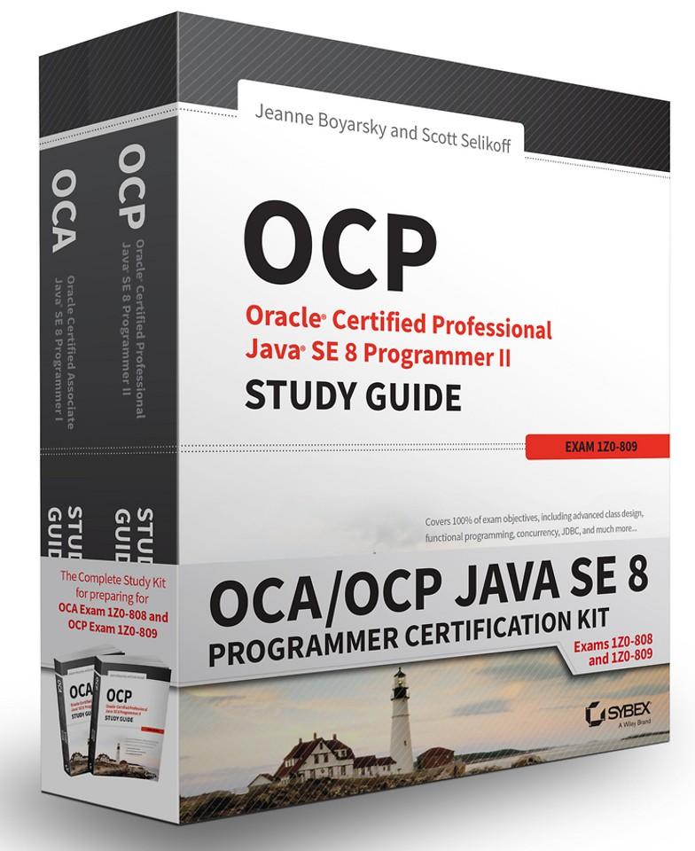 OCA/OCP Java SE 8 Programmer Certification Kit