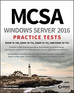 MCSA Windows Server 2016 Practice Tests