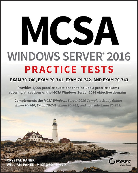 MCSA Windows Server 2016 Practice Tests (Engels)