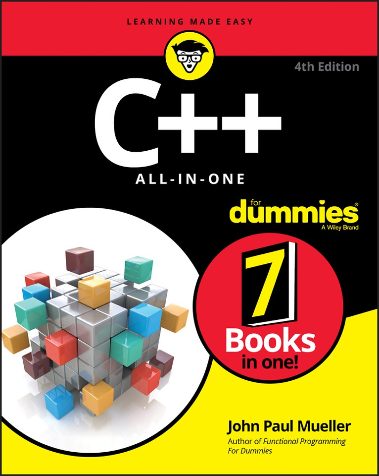 C++ All–in–One For Dummies