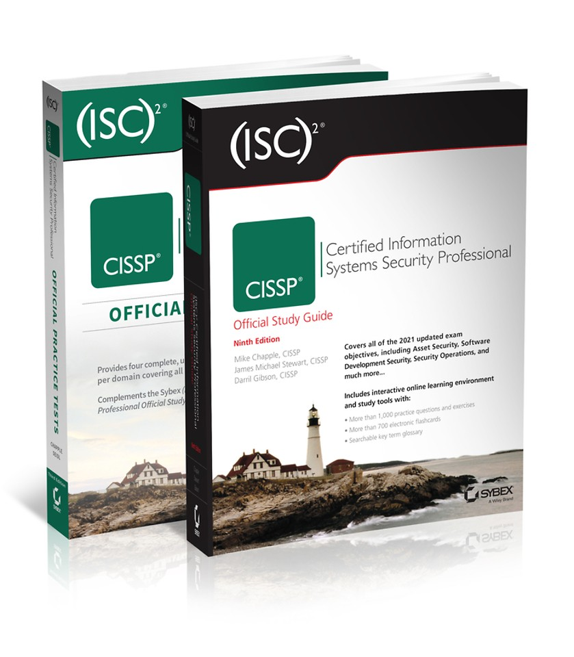 (ISC)2 CISSP Certified Information Systems Security Professional Official Study Guide & Practice Tests Bundle