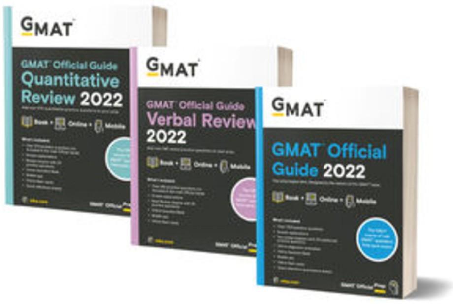 GMAT Official Guide 2022 Bundle : Books + Online+ Mobile