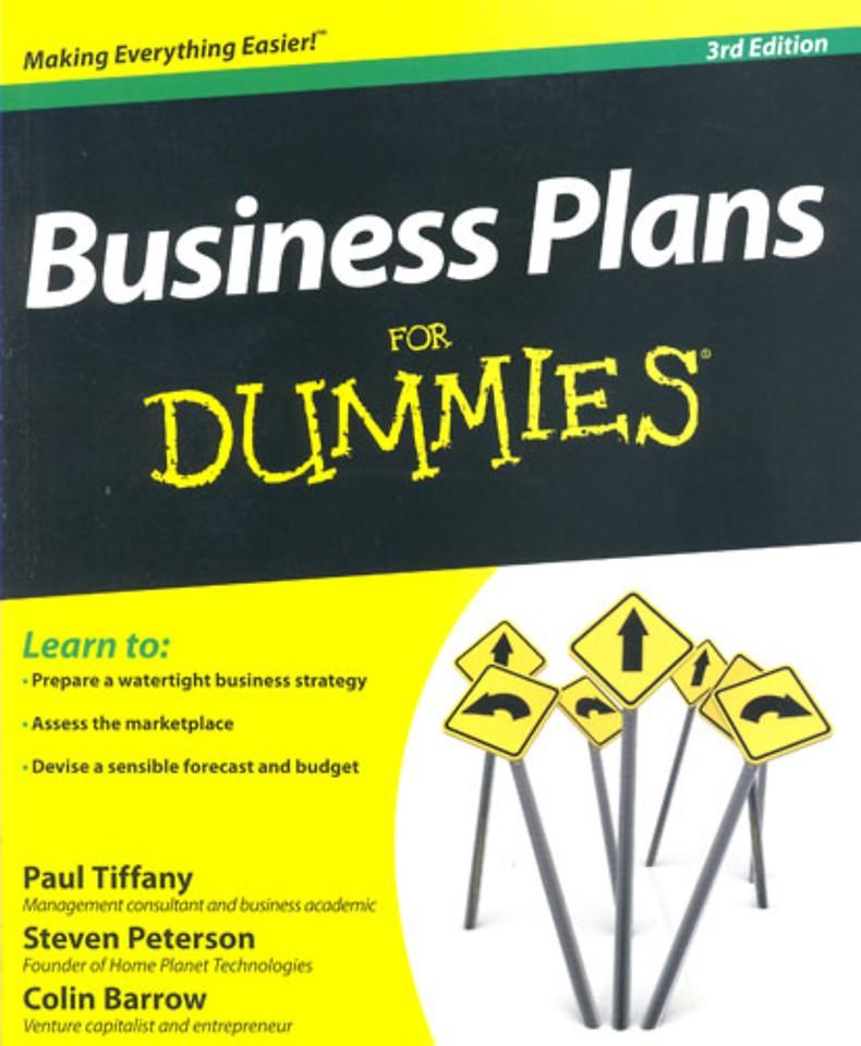 Businessplans for Dummies