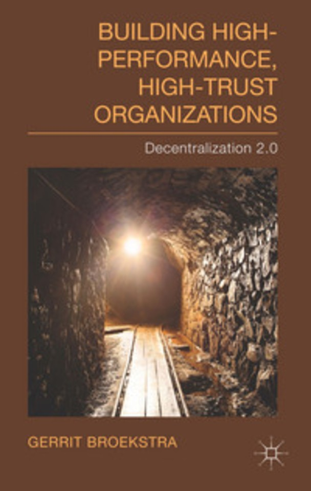 Building High-Performance, High-Trust Organizations