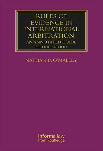 Rules of Evidence in International Arbitration