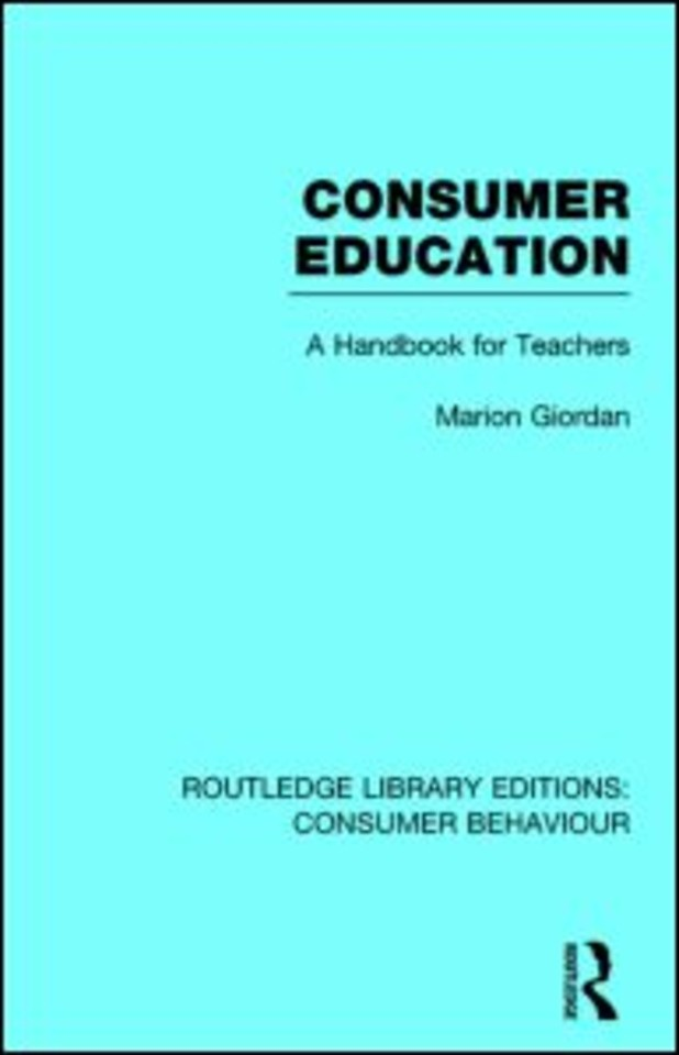 Routledge Library Editions: Consumer Behaviour