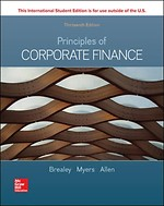 Principles of Corporate Finance 13th ed.