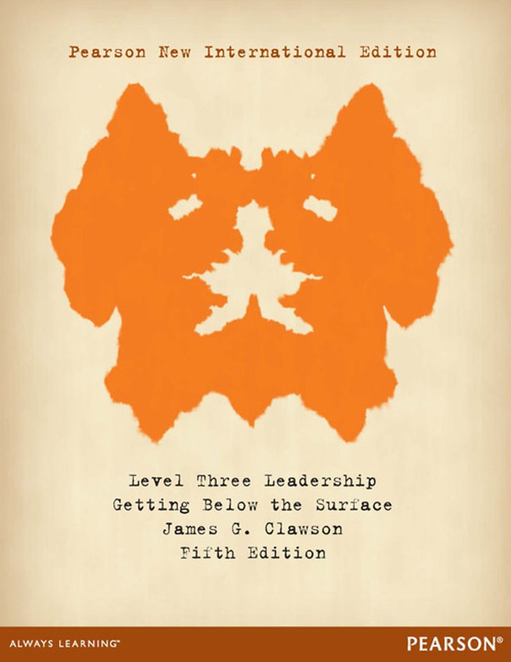 Level Three Leadership: Pearson New International Edition