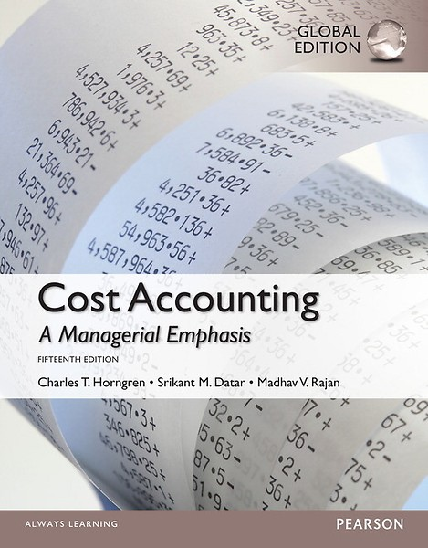 cost accounting a managerial emphasis 16th edition pdf free download