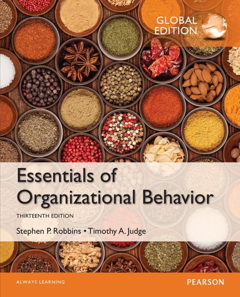Essentials of Organizational Behavior with MyManagementLab, Global Edition
