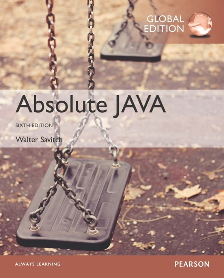 Absolute Java, Global Edition