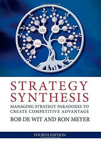 de wit meyer thomson Role of intellectual capital in creating enterprise strategy de wit et al, 2004 de wit, bob and meyer context and international perspectives, thomson.