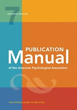 Publication Manual of the American Psychological Association 2020