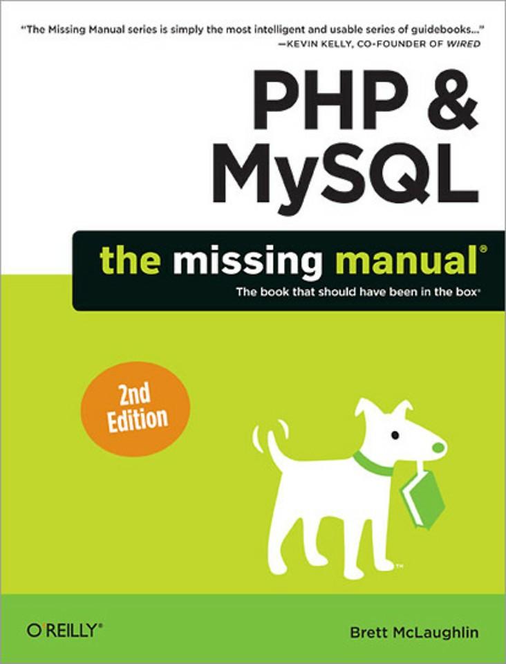 PHP & MySQL:The Missing Manual