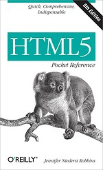 HTML5 Pcket Reference