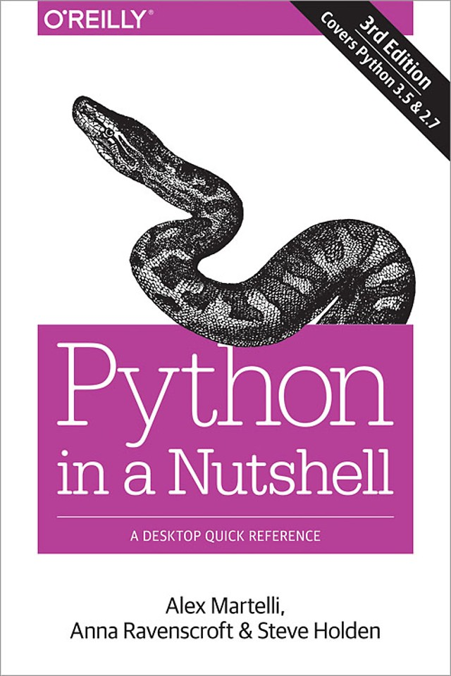 Python - In a Nutshell 3rd Edition