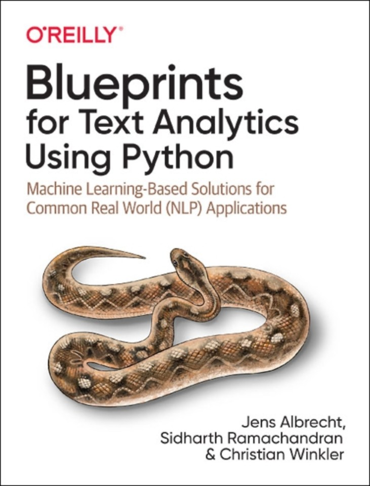 Blueprints for Text Analysis using Python