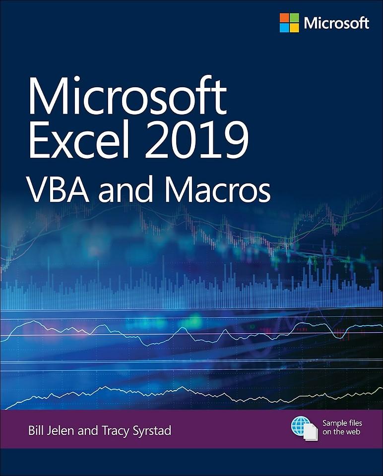 Microsoft Excel 2019 VBA and Macros