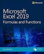 Microsoft Excel 2019 - Formulas and Functions