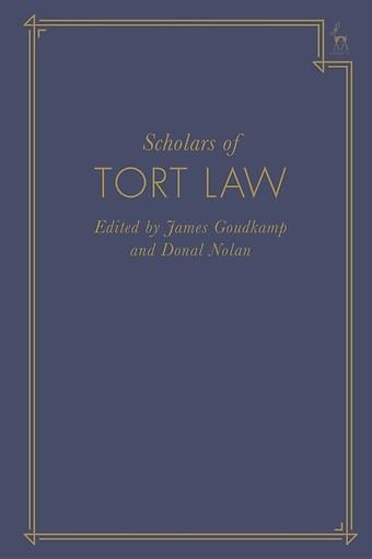 Scholars of Tort Law