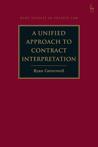 A Unified Approach to Contract Interpretation