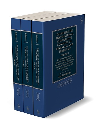 Dalhuisen on Transnational Comparative, Commercial, Financial and Trade Law - 3 Volume Set