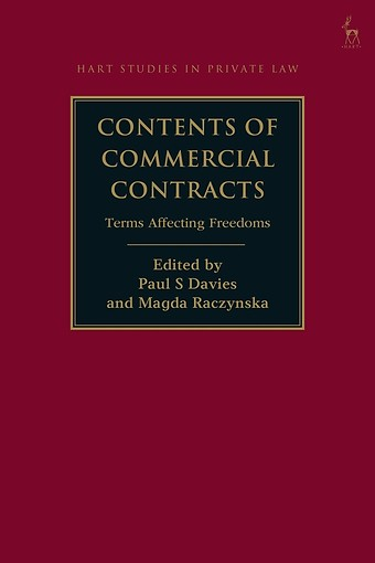 Contents of Commercial Contracts