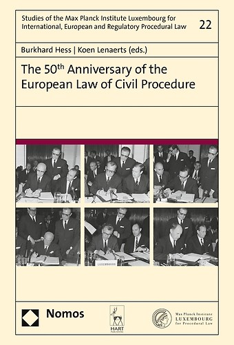 The 50th Anniversary of the European Law of Civil Procedure