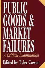 Public Goods and Market Failures