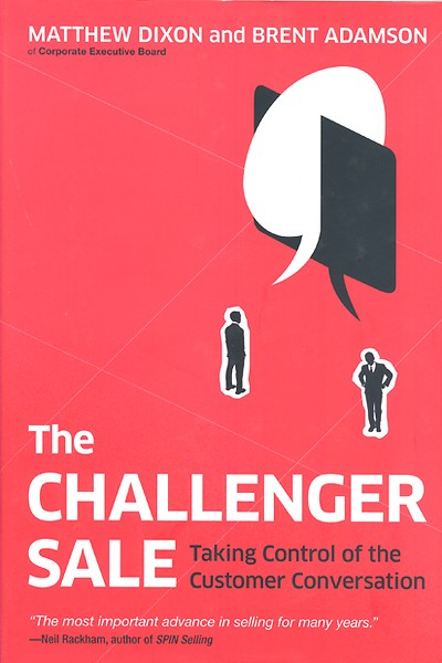 The Challenger Sale Engels Door Matthew Dixon Brent