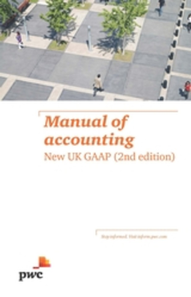 Manual of accounting