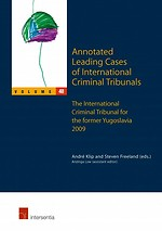 Annotated Leading Cases of International Criminal Tribunals - volume 48