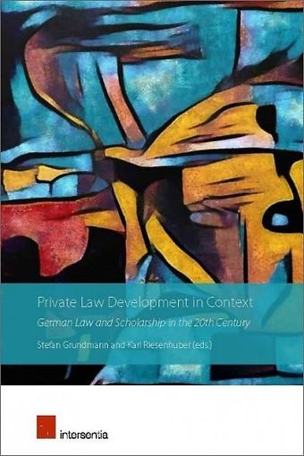 Private Law Development in Context