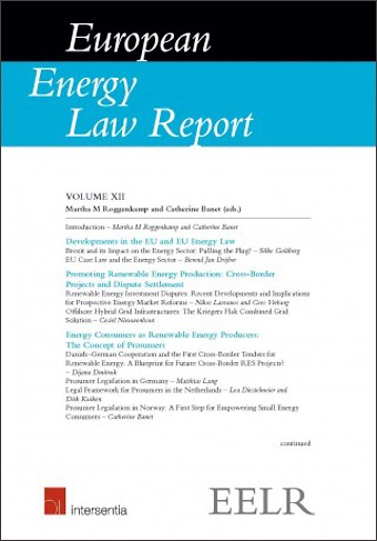 European Energy Law Report XII