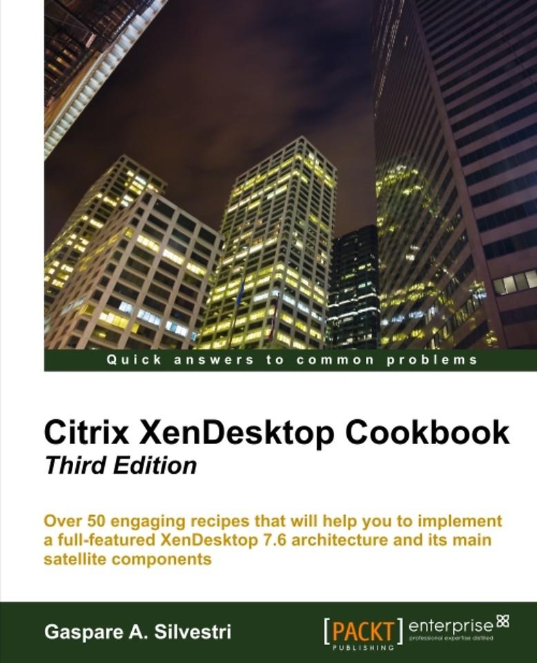 Citrix Xendesktop Cookbook