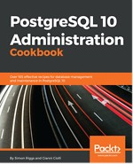 PostgreSQL 10 Administration Cookbook