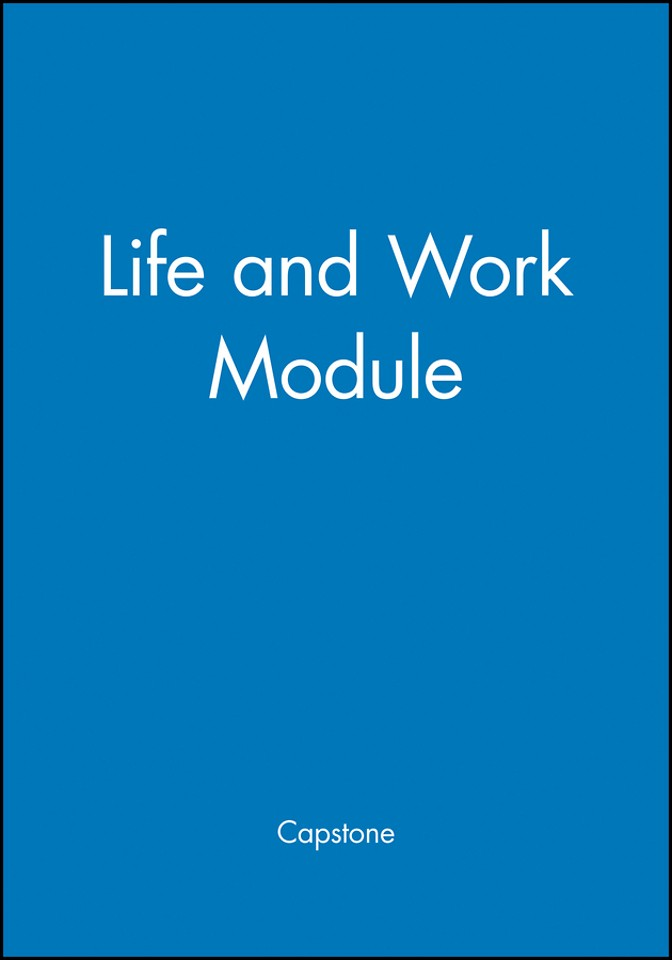 Life and Work Module