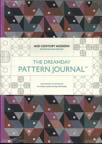 The Dreamday Pattern Journal Mid Century Modern Scandinavian