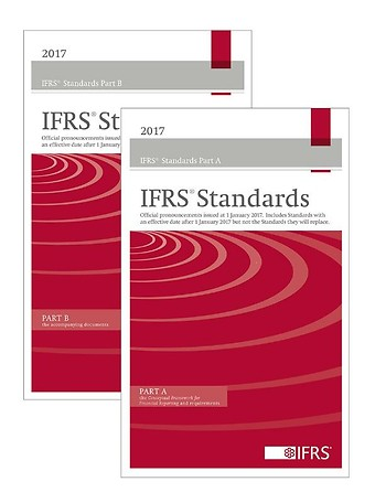 International Financial Reporting Standards Red+Blue Book Bundle 2017 (EN editie)