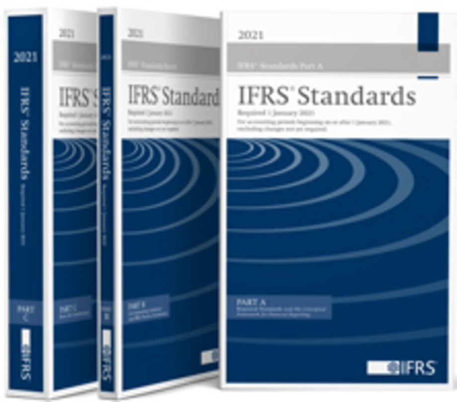 IFRS® Standards—Required 1 January 2021 (Blue Book) - 3 volume set