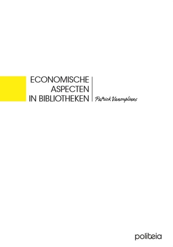 Economische aspecten in bibliotheken