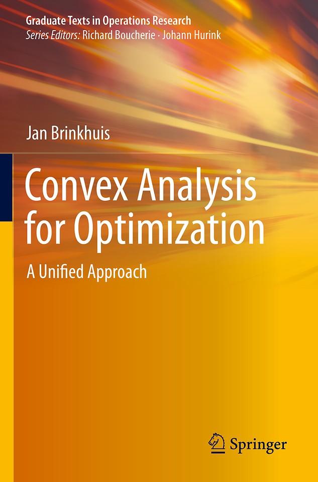 Convex Analysis for Optimization