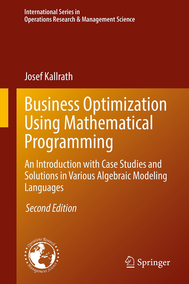 Business Optimization Using Mathematical Programming