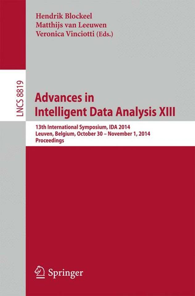 Advances in Intelligent Data Analysis XIII