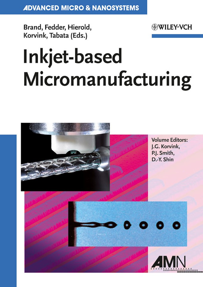 Inkjet–based Micromanufacturing