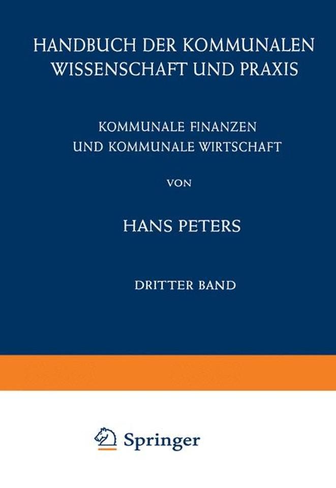 Kommunale Finanzen und Kommunale Wirtschaft