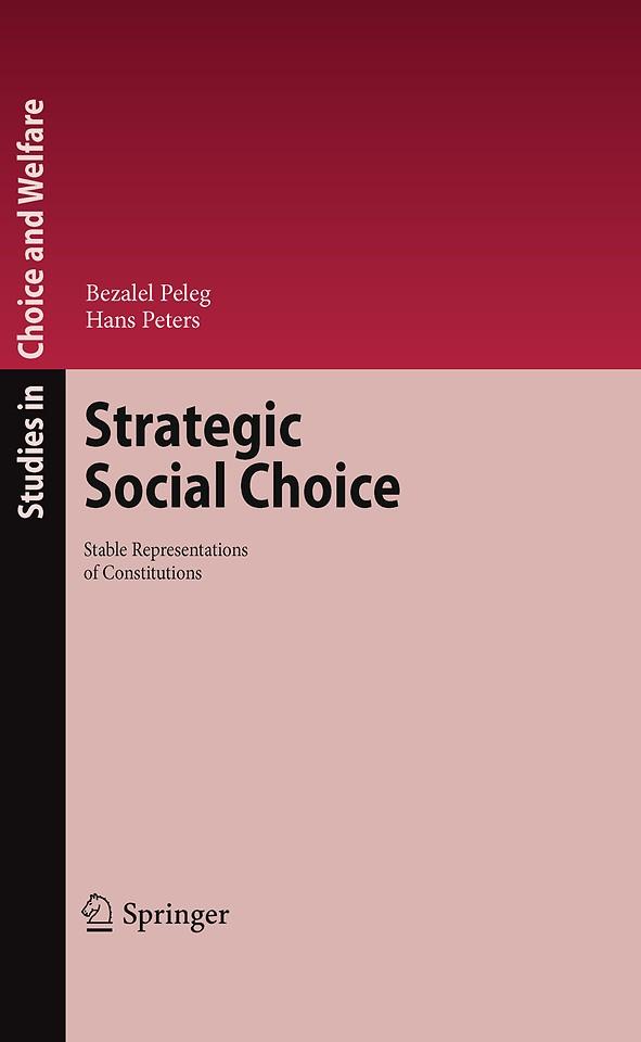 Strategic Social Choice
