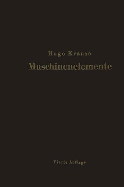 Maschinenelemente door Hugo Krause (Boek) - Managementboek.nl