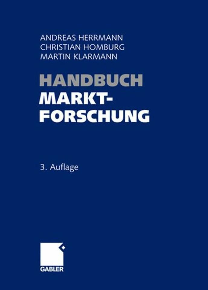 Handbuch Marktforschung