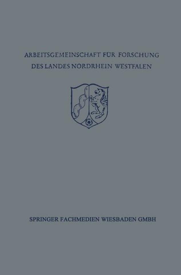 Festschrift der Arbeitsgemeinschaft für Forschung des Landes Nordrhein-Westfalen zu Ehren des Herrn Ministerpräsidenten Karl Arnold